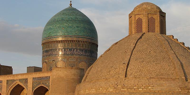 Голубые купола Бухары