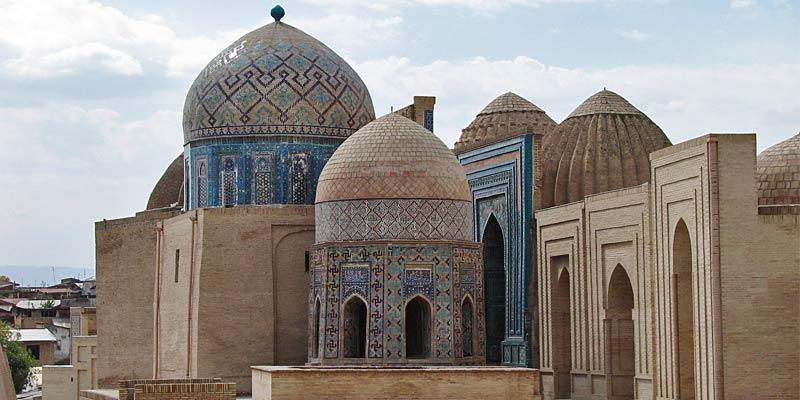 Голубые купола Самарканда