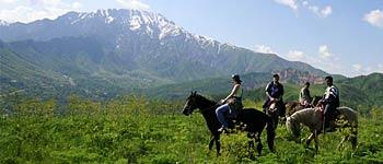 Конно-верховой тур по горам Чимгана