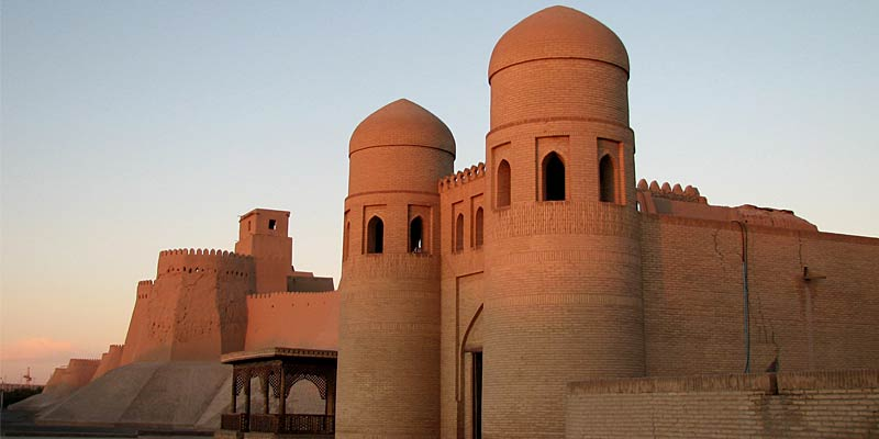 Крепость Ичан-кала. Главные ворота