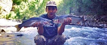 Рыболовный тур за радужной форелью